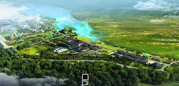 鲁朗珠江国际酒店工程项目位于西藏自治区林芝市鲁朗图片