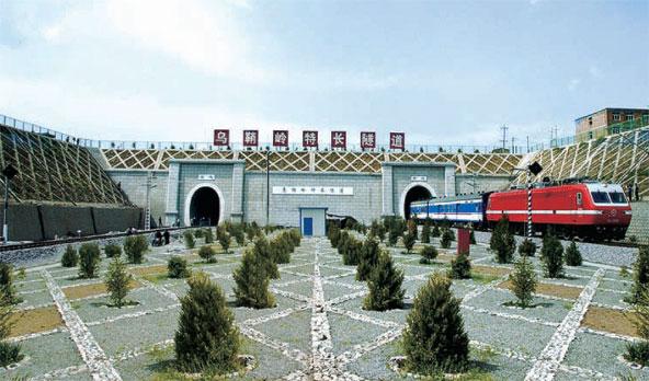 兰武铁路二线乌鞘岭特长隧道
