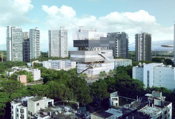 粤海街道文体中心工程